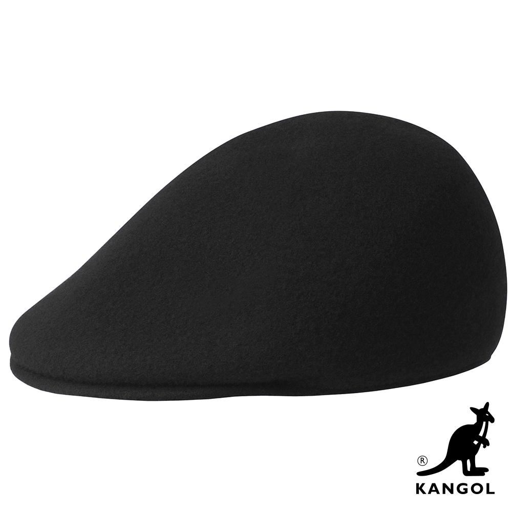 KANGOL-507 SEAMLESS鴨舌帽-黑色
