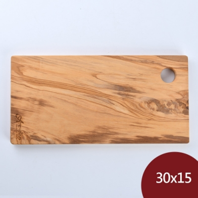 Arte in olivo 義大利 橄欖木 盛菜盤 砧板 30x15cm 義大利製