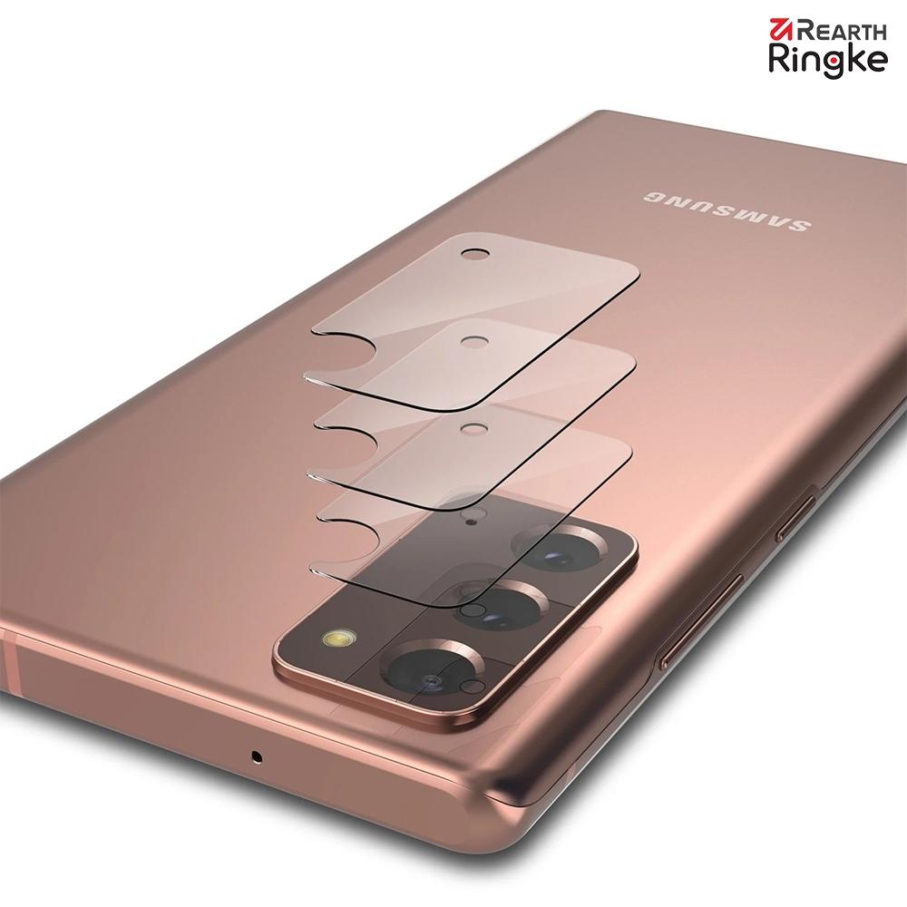 【Ringke】Rearth 三星 Galaxy Note20 / Note20 Ultra [ID Glass] 強化玻璃鏡頭保護貼 (0.2mm) - 三片裝