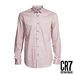 CR7-Slim Fit 粉白星星襯衫(8666-72100-74)