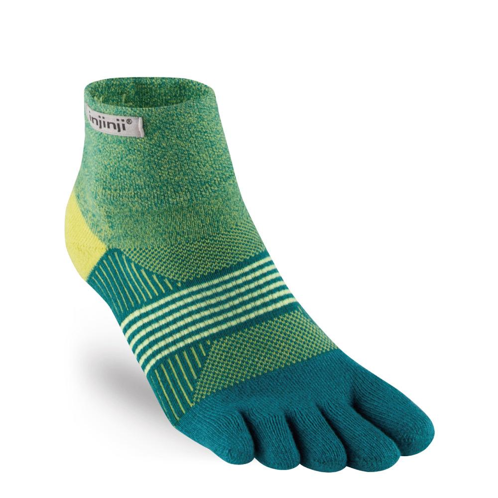 【INJINJI】TRAIL女性野跑避震吸排五趾短襪