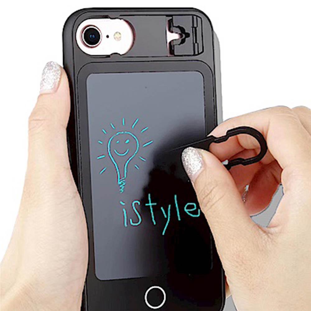 iStyle iPhone 7/8 plus 5.5 塗鴉手機殼 @ Y!購物
