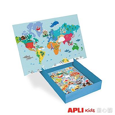 西班牙APLI 環遊世界磁力拼圖(3Y+)