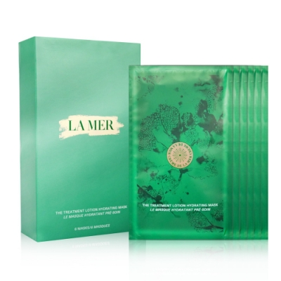 (即期品)LA MER 海洋拉娜 濃縮精華高滲透直導膜 27.5gx6片