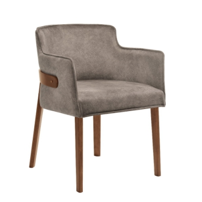 MUNA 波爾頓餐椅(布)(實木)(4入)  161X59.5X79.5cm