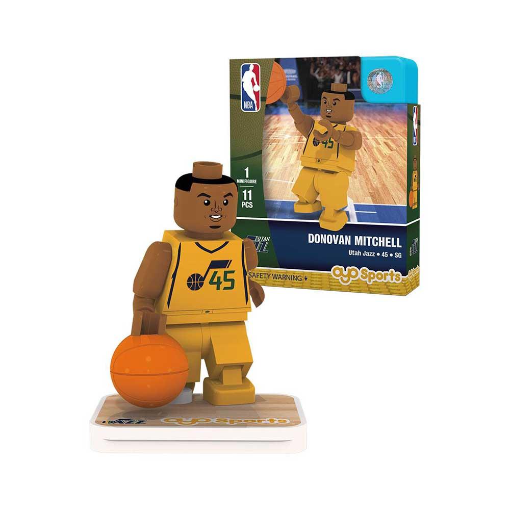 OYO Sports NBA 球員公仔 爵士隊 Donovan Mitchell
