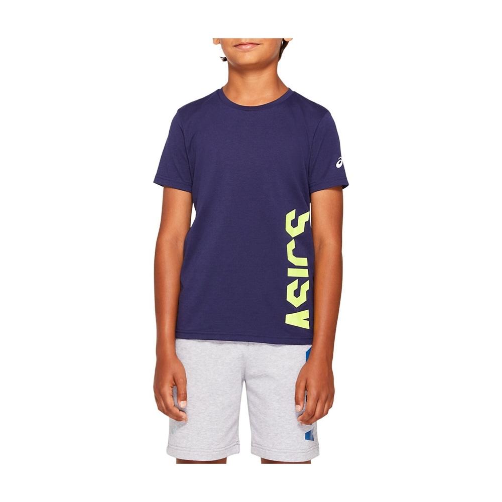 ASICS 短袖上衣 兒童 2034A098-402