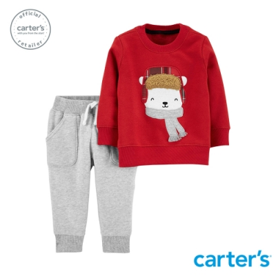 Carter s台灣總代理 立體北極熊2件組套裝