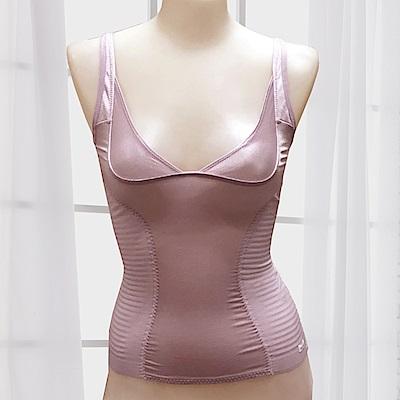 BVD Ladies PERFECT SLIM系列 胸部UP升級版塑身衣(粉色)