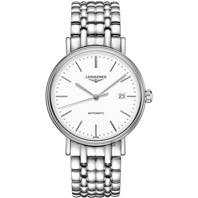 LONGINES 浪琴 Presence 經典優雅機械錶-40mm(L49224126)