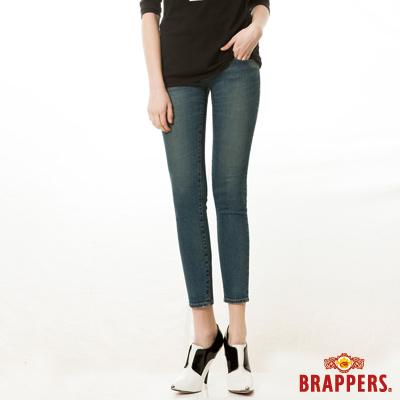 BRAPPERS 女款 新美腳Royal系列-女用彈性九分褲-藍