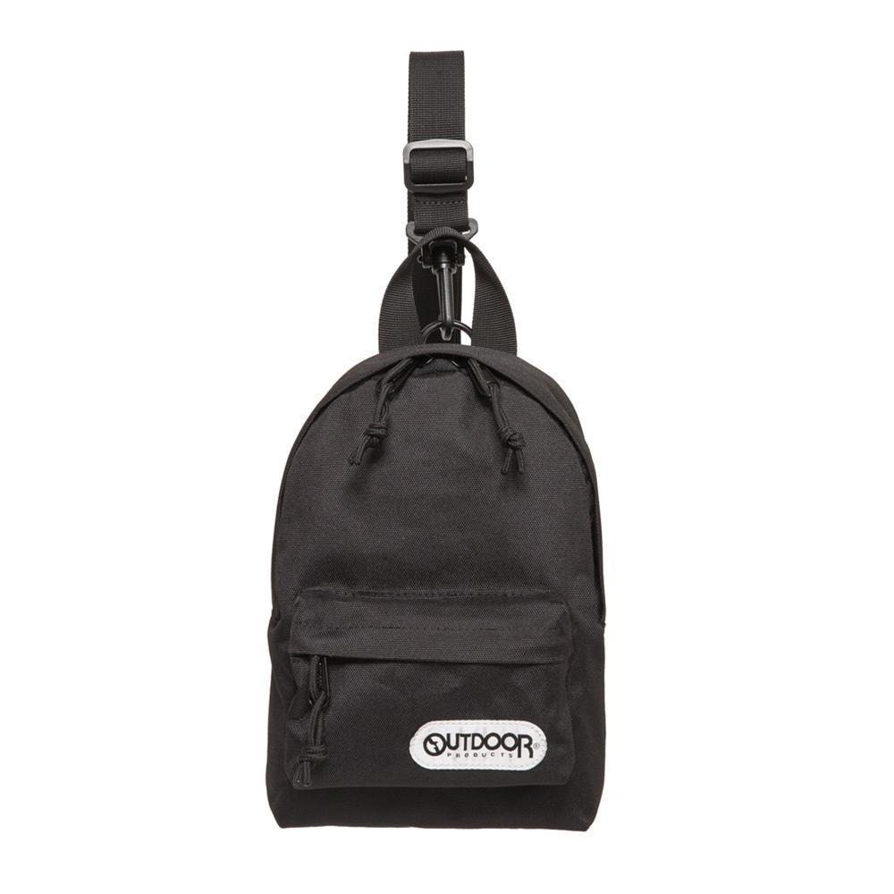 【OUTDOOR】單肩/側背二用包-黑色 OD291107BK