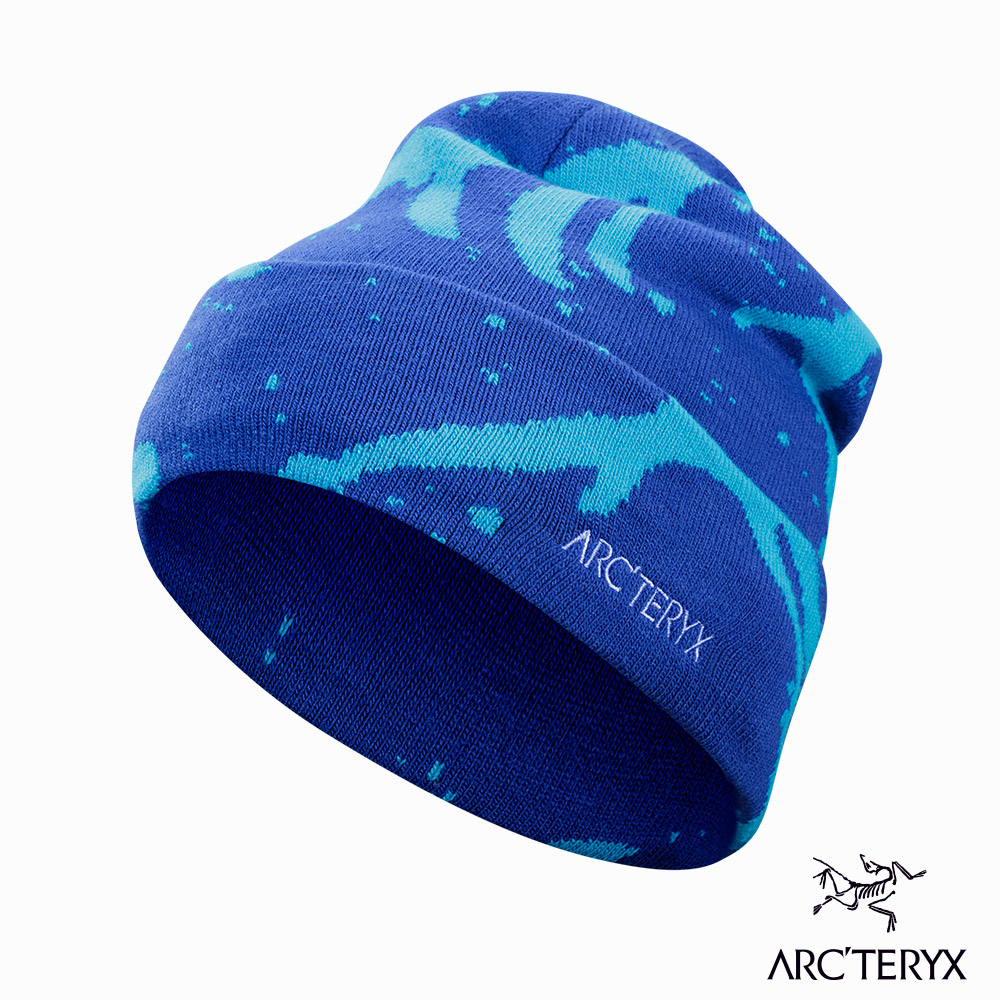 Arcteryx Grotto 保暖針織毛帽 拉非藍/下加州藍