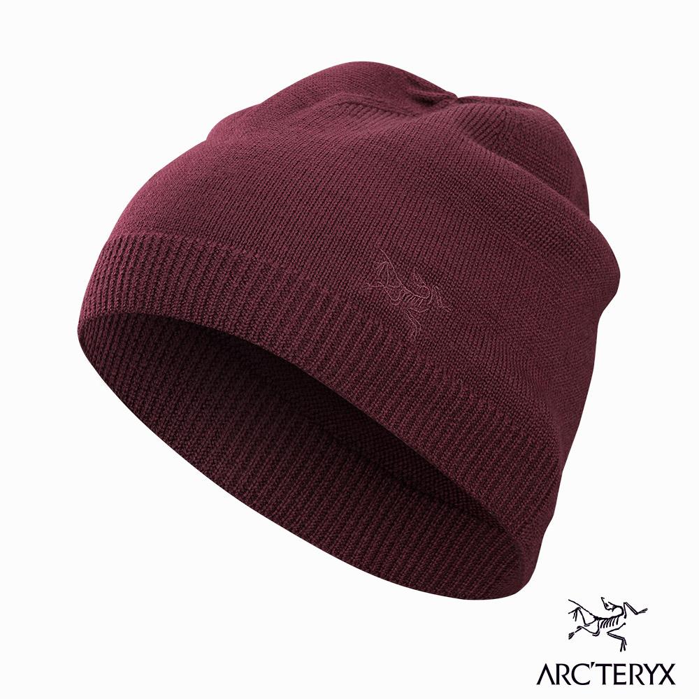 Arcteryx Vestigio 羊毛保暖帽 緋紅