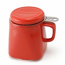 ZERO JAPAN 陶瓷泡茶用馬克杯(蕃茄紅)400cc