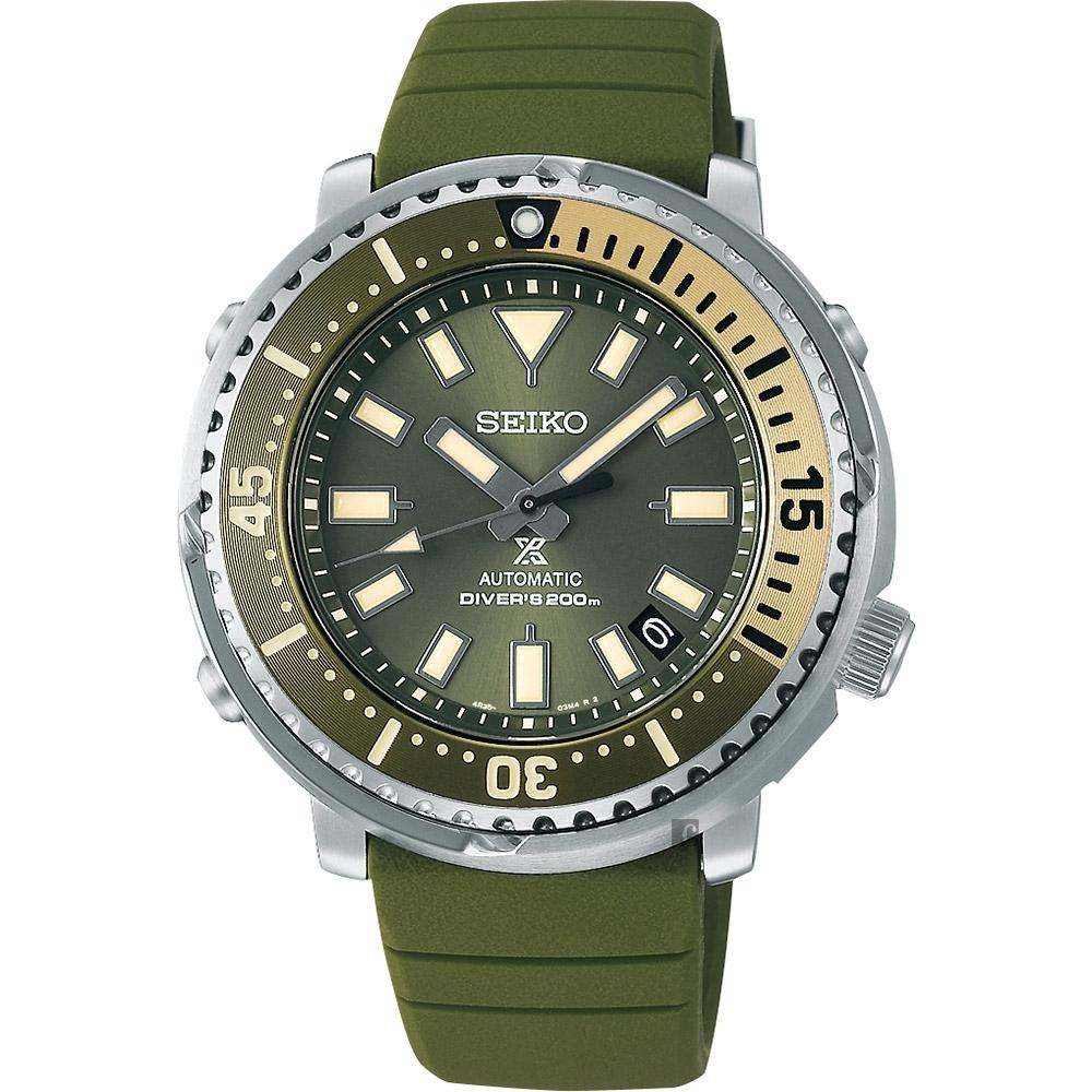 SEIKO 精工 PROSPEX 200米潛水機械錶(SRPF83K1/4R35-04L0G)