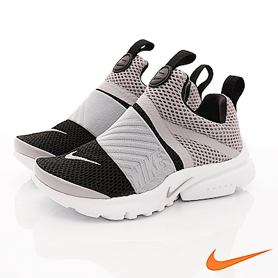NIKE PRESTO 襪套鞋 EI70023-006灰(中小童段)