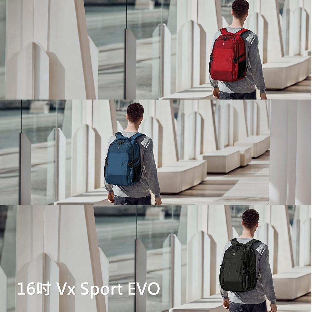 VICTORINOX 瑞士維氏 16吋 Vx Sport EVO後背包 / 3色