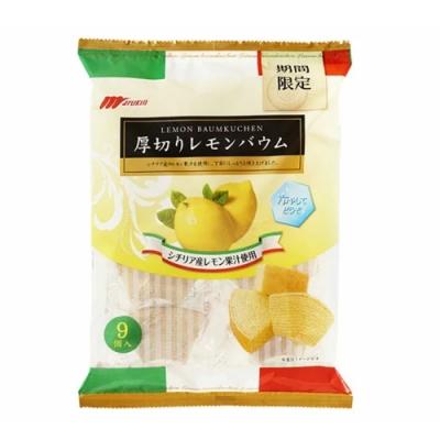 日本marukin 檸檬風味蛋糕(225g)