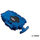 戰鬥陀螺 BURST#137 旋風發射器 透明藍 右迴旋TAKARA TOMY