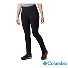 Columbia 哥倫比亞 女款-防曬50防潑長褲-黑色 UAK11220BK