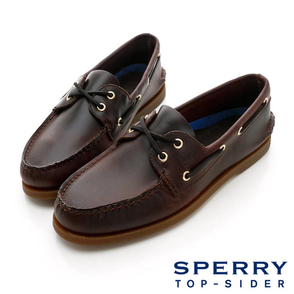 SPERRY 經典必備帆船鞋(男)-深咖啡