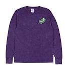 RIPNDIP MONEY TALKS 中指貓 紫色渲染長袖T恤