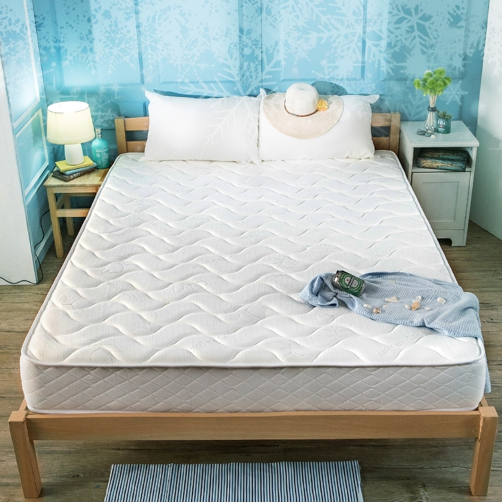 obis ICEY涼感紗二線雙人特大7尺無毒乳膠獨立筒床墊