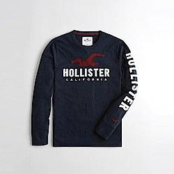 Hollister HCO  長袖 T恤 藍 1093