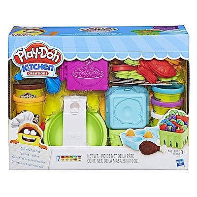 培樂多Play-Doh 創意DIY黏土 廚房系列 雜貨店 E1936