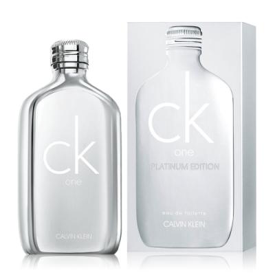 *Calvin Klein CK ONE白金未來限量版中性淡香水 100ml