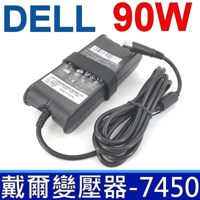 DELL 90W 變壓器 5.0*7.4mm 厚型 Vostro 1000 1088 1200 1310 1400 1500 A860 Latitude E7450 CM889 D094H WK890