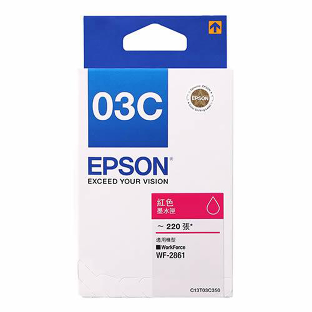 EPSON T03C350 紅色墨水匣