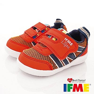 IFME健康機能鞋 超輕學步款 EI70212橘(寶寶段)