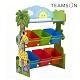 Teamson 叢林探險3層兒童玩具收納架/櫃(附6個收納盒) product thumbnail 1