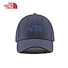 The North Face北面男女款藍色遮陽運動帽|CF8CH2G