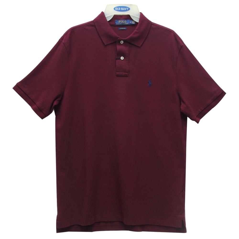 Ralph Lauren CLASSIC FIT 小馬短袖POLO衫-紅色(M)