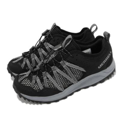 Merrell 戶外鞋 Wildwood Aerosport 女鞋 避震墊片 穩定舒適 抓地耐磨 黑 灰 ML036152