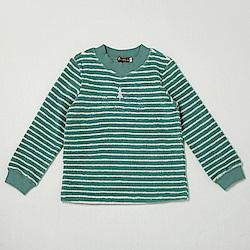 PIPPY 超暖絨毛條紋上衣 綠