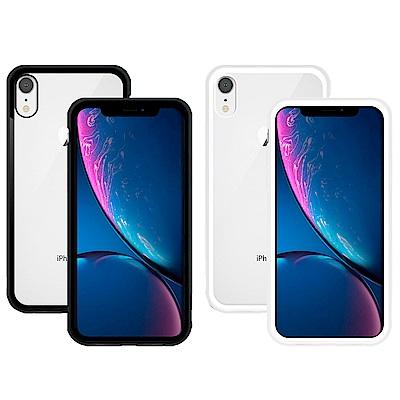 Metal-Slim Apple iPhone XR 鋁合金磁吸鋼化玻璃保護殼