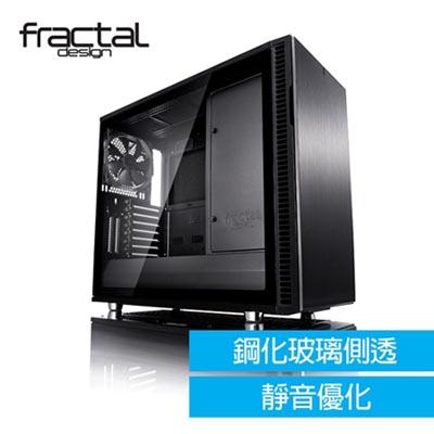 瑞典Fractal Design-Define R6 TG-全側透鋼化玻璃電腦機殼/全黑化