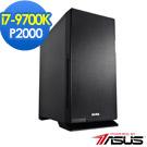 華碩Z390平台[安基利軻]i7八核P2000繪圖SSD電玩機