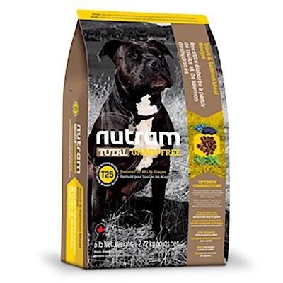 Nutram紐頓 T25 無穀挑嘴潔牙全齡犬(鮭魚+鱒魚)配方 2.72KG