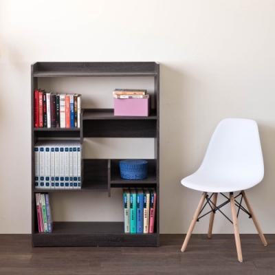 [時時樂限定]TZUMii 佐野可調式書櫃-雙色可選82.5*30*120cm