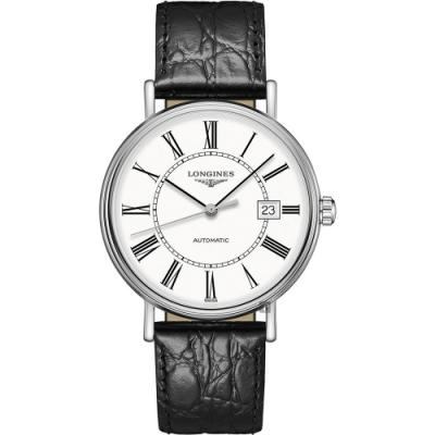 LONGINES 浪琴 Presence 羅馬機械錶-40mm L49224112