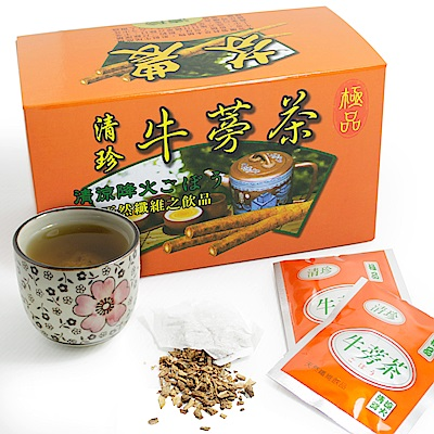 那魯灣 清珍牛蒡茶包(5gx20包)