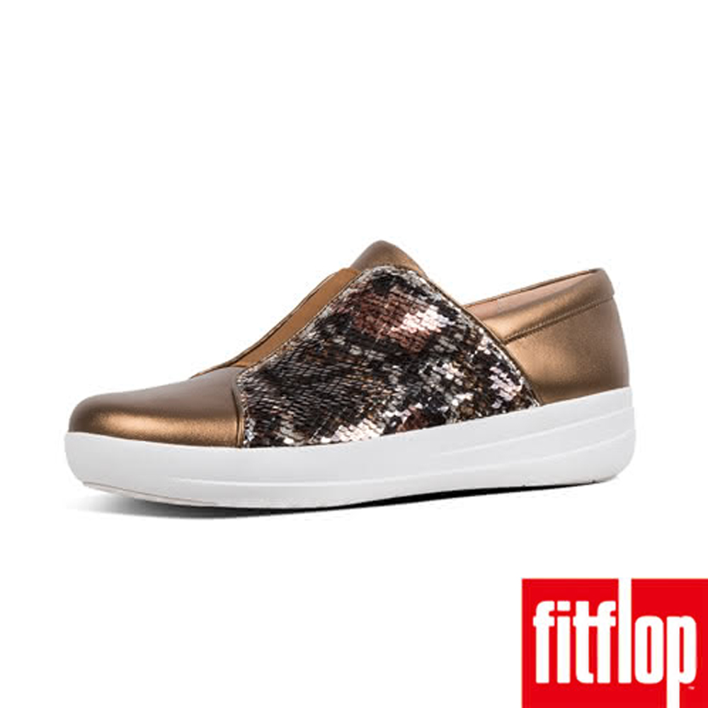 FitFlop F-SPORTY II SEQUIN LEATHE-銅