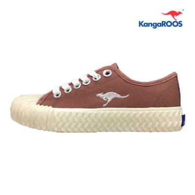 KangaROOS CRUST 女休閒帆布餅乾鞋 梅紅 KW91272