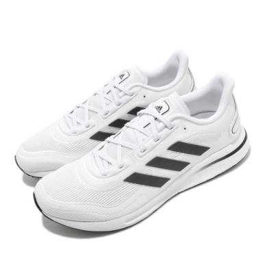 adidas 慢跑鞋 Supernova 運動 男鞋 愛迪達 路跑 緩震 Boost底 白 黑 FV6026