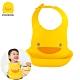 【任選】黃色小鴨《PiyoPiyo》多段式防水圍兜 product thumbnail 1